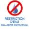 RESTRICTION D'EAU en YVELINES: L'arrêté préfectoral entre en vigueur